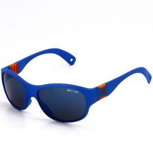 Kinderzonnerbil AIE Tom Blauw Oranje
